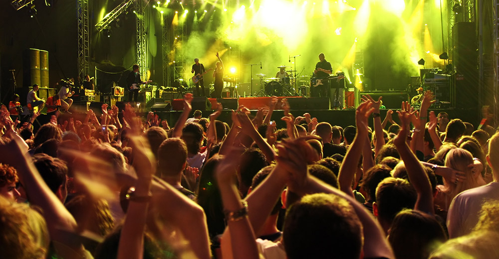 koncerty na bani